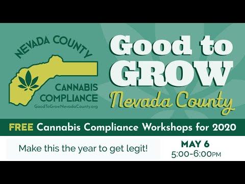 Good to Grow Nevada County workshop
