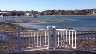 Waterfront Deck on Cąpe Cod Home