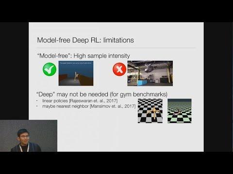 Temporal Difference Models: Deep Model-free RL for Model