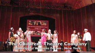 Children's Theatre at UN Global Women's Forum (musical revue)