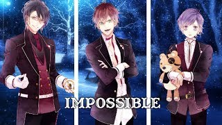 ✧Nightcore - Impossible (Rock cover) (Switching Vocals) (Lyrics)✧