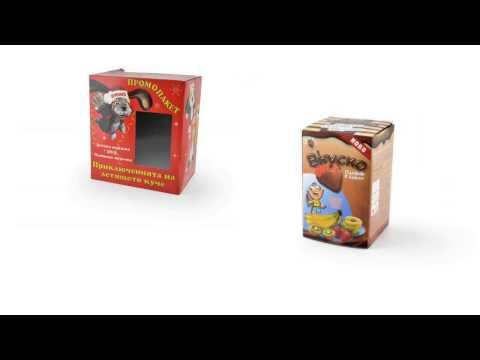 Виста Принт - Производство на щанцовани опаковки и луксозни кутии за подаръци