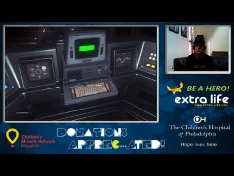 Alien: Isolation Charity Stream For The Children's Hospital of Philadelphia (Part 4)