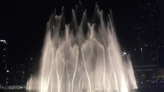 THRILLER AT DUBAI FOUNTAIN