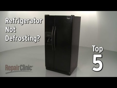 "Thumbnail for video ""Top 5 Reasons Refrigerator Isn't Defrosting?"""