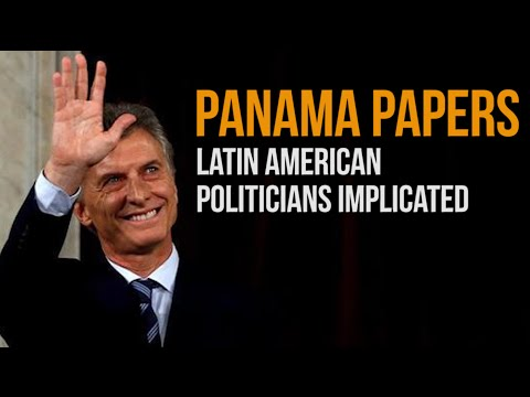 Latin American Politicians Implicated in Panama Papers