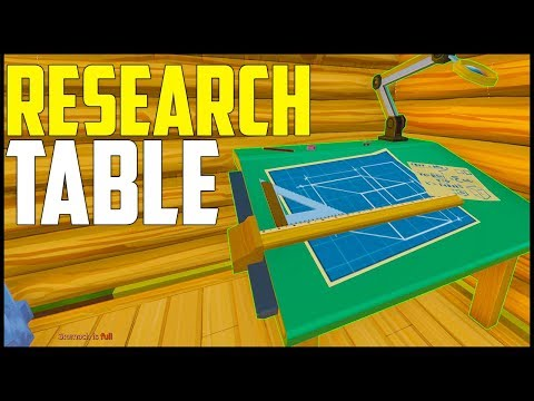 ECO Survival - Part 3: Research Table & Engineering!