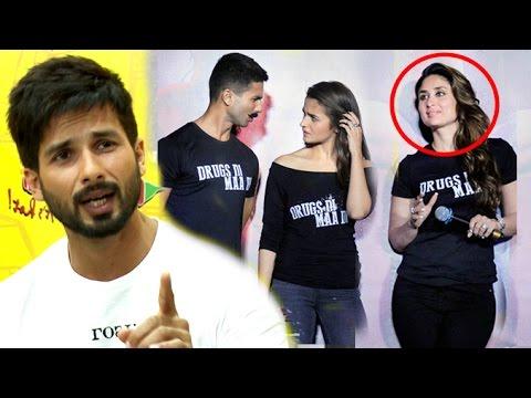 Shahid On Why He AVOIDED Kareena Kapoor At Udta Punjab Trailer Launch