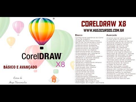 Curso de Coreldraw X8 - Aula 02 - Corrigindo Possível Bug de Abertura