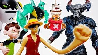 Chopper Is In Danger~! Luffy Ben10 Let's Save Him Together - ToyMart TV