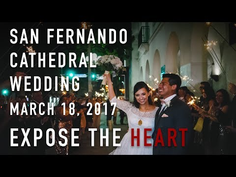 San Fernando Cathedral Wedding VLOG in San Antonio by Expose The Heart Photography
