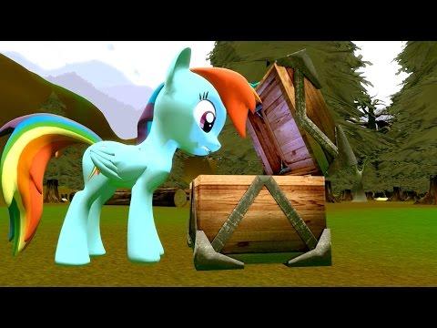 Cursed Pony Magic: Rainbow Dash