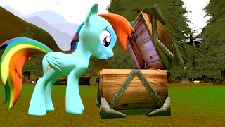 Cursed Pony Magic: Rainbow Dash