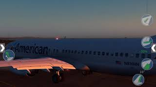 XP10: American Airlines 737-800–Curaçao TNCC to Fort Lauderdale KFLL
