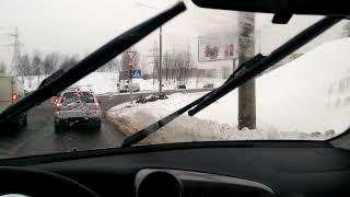 Щетки - дворники masuma (Япония/Китай/Россия) snow blade пример 'работы'. Не покупать!
