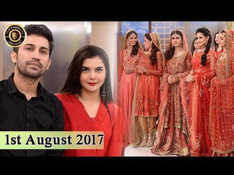 Good Morning Pakistan - 1st August 2017 - Top Pakistani Show
