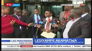 Richard Lesiyampe amekamatwa katika operesheni ya kupambana na ufisadi