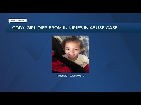 Wyoming girl dies from injuries related to alleged child abuse