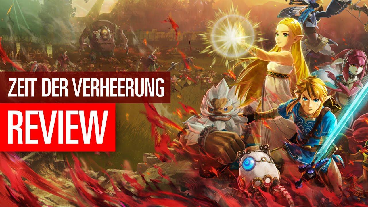 Hyrule Warriors Zeit Der Verheerung Review Deftiger Nachschlag Zu Breath Of The Wild Youtube
