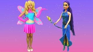 Polen peri oluyor. Barbie ve Teresa ile sihir videosu!