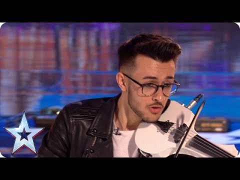 Violining like you've NEVER seen it before! | Auditions | BGT 2018