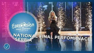 Nevena Božović - Kruna - Serbia 🇷🇸 - National Final Performance - Eurovision 2019