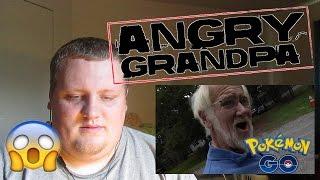 Angry Grandpa Plays Pokémon GO! (Destroys iPhone!) REACTION!!!