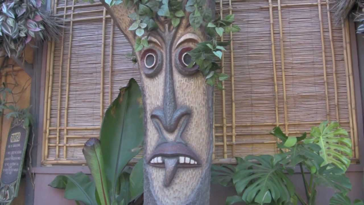 The Enchanted Tiki Room Tiki Garden Preshow Youtube
