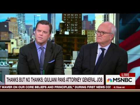 Mike Barnicle on Trump's possible cabinet choices (15 November 2016)
