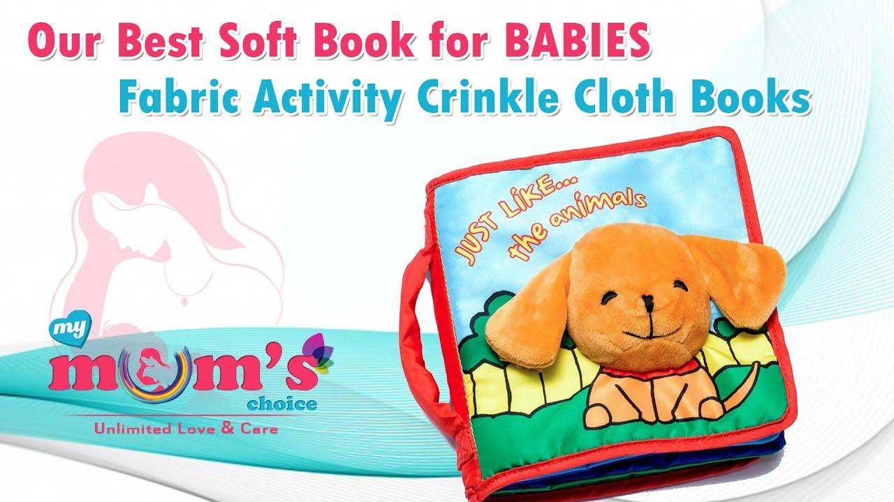 Amazon.com: Cloth Books for Babies (Set of 6) - Premium ...