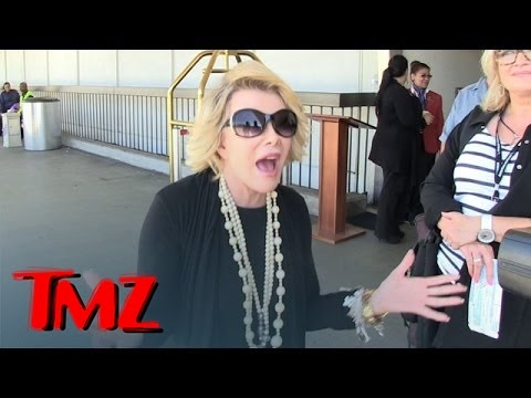 Joan Rivers -- GOES OFF on Epic Israel/Palestine Rant | TMZ