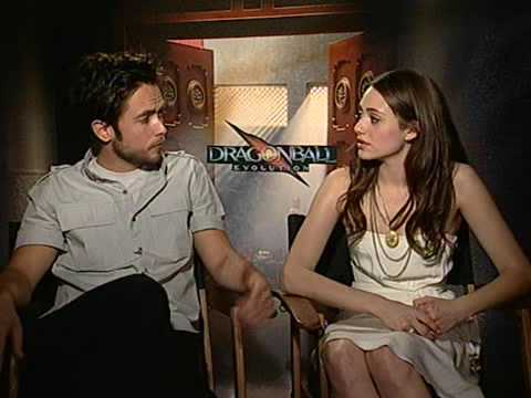 Justin Chatwin and Emmy Rossum Dragonball Evolution