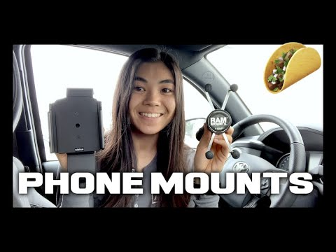 Best TACOMA Phone Mount | ProClip Vs RAM