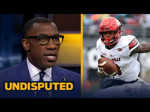 Shannon Sharpe compares Lamar Jackson's athleticism to Michael Vick, Good fit in BAL | UNDISPUTED