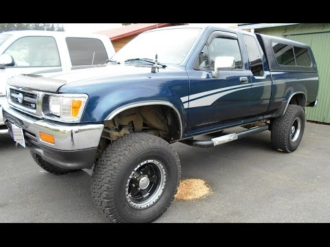 1994 Toyota Pickup Bearings, Seals, and Brake Replacement