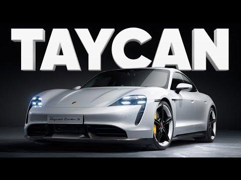 Тачка - мечта / Porsche Taycan Turbo S / Порше Тайкан / Дневники с автосалона во Франкфурте