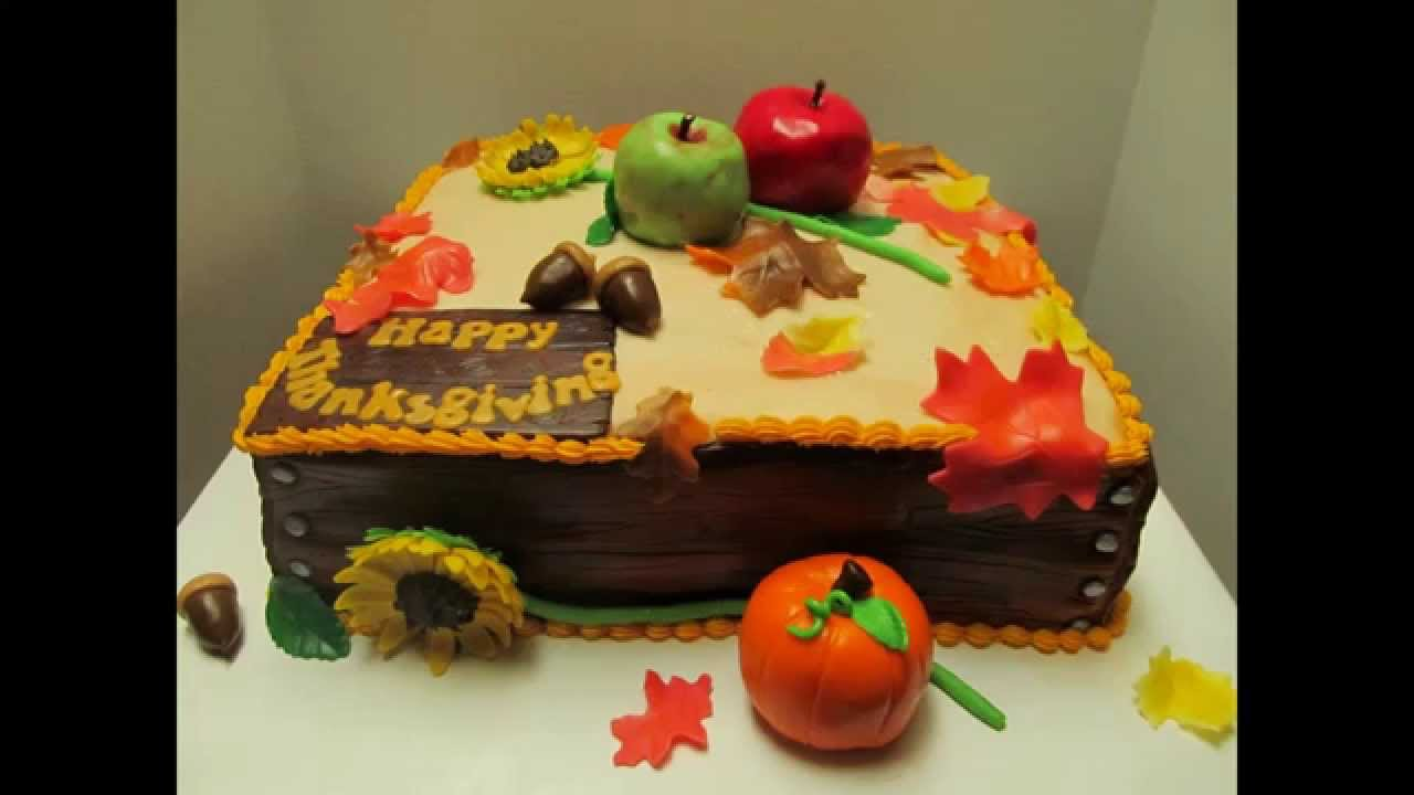 Best thanksgiving cake decorating ideas   YouTube Best thanksgiving cake decorating ideas