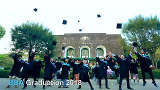 Yangon University of Economics , BBA Major Students Graduation Dancing
