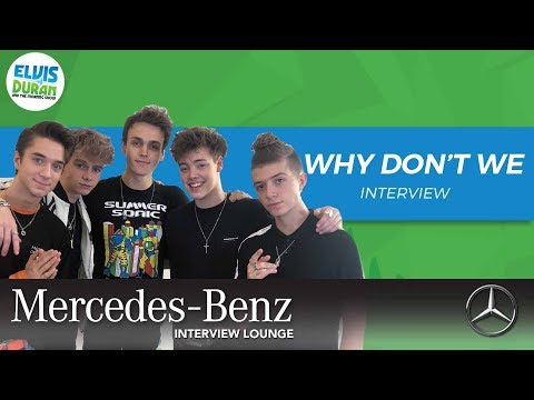 Why Don't We Meets Alessia Cara | Elvis Duran Show
