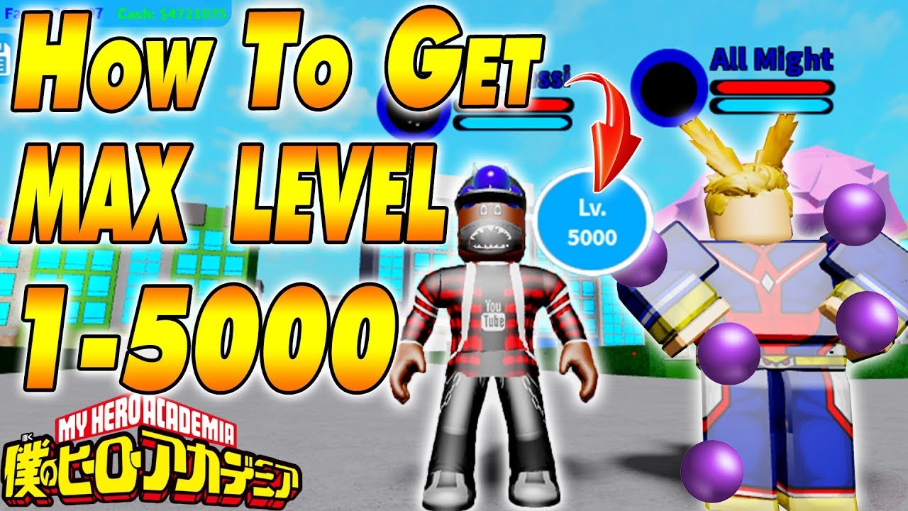 How To Get Max Level Boku No Roblox Remastered Youtube