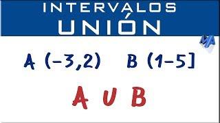 Unión de intervalos