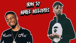 How The Top Producers Make Melodies With NO Music Theory [ FL Studio Melody Tutorial ]