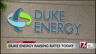 Duke Energy Rate Hikes Start Tuesday
