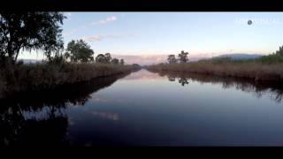 "4K Aerial film ""The river"""