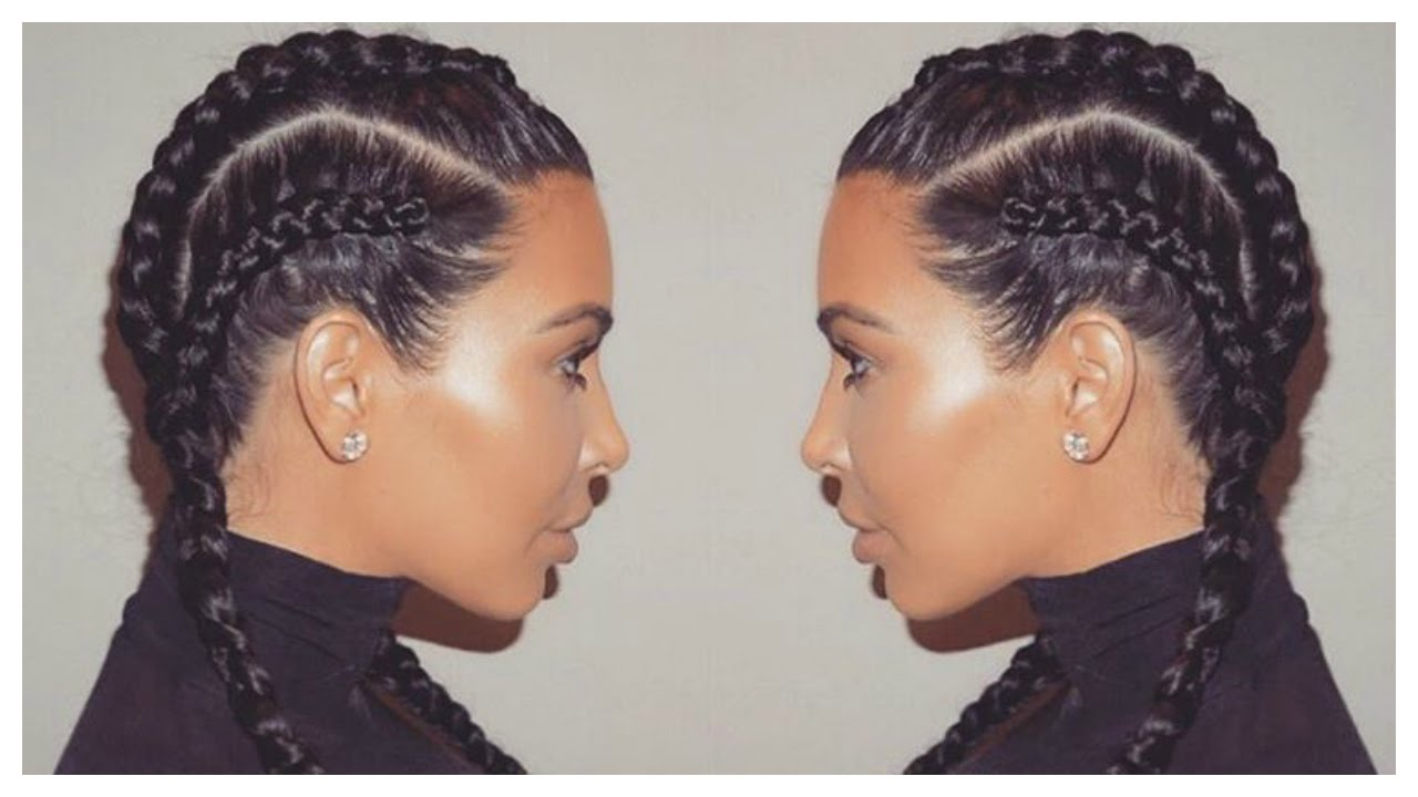 double dutch french braid cornrow