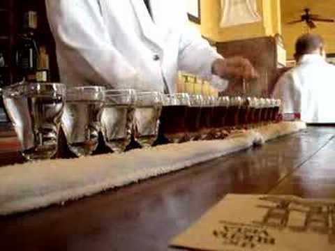 Buena Vista Cafe - How to make Irish Coffee