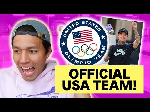 USA 2020 OLYMPICS SKATEBOARD TEAM ANNOUNCED!