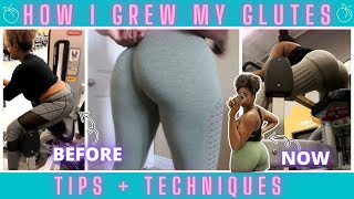 GLUTE BUILDING TIPS THAT GREW MY FLAT BOOTY   OPERATION BUILD-A-BOOTY  BUILD A JUICY BOOTY!