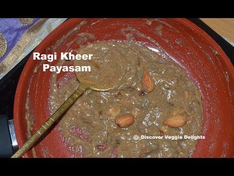 Ragi Payasam|Finger millet Sweet|Easy & Healthy Ragi Payasam