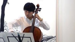 바흐 무반주 첼로곡 1번 프렐류드 (Nr.1 G-dur BWV 1007 /1.Prelude) 안준영